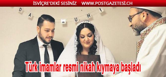 Türk imama nikah yetkisi