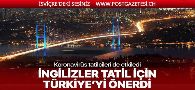 İngiliz basını güvenli tatil için koronavirüs vakası bulunmayan Türkiye'yi önerdi