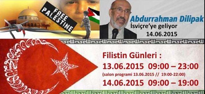 Filistin Günleri'ne davet
