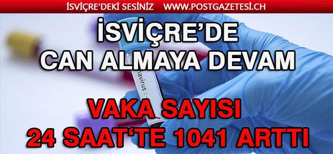 İSVİÇRE'DE 24 SAAT'TE 1046 ARTIŞ