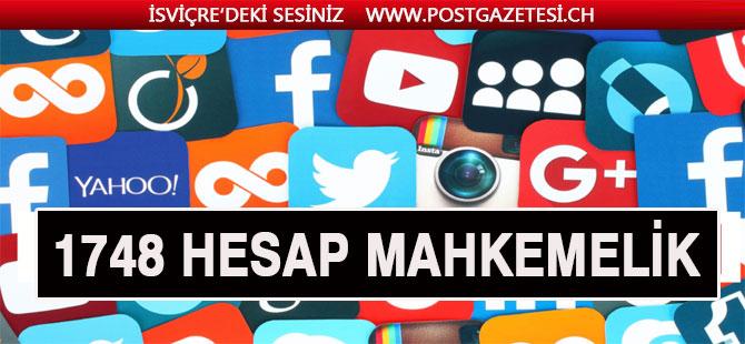 Sosyal medyada asılsız paylaşım yapan bin 748 hesap tespit edildi