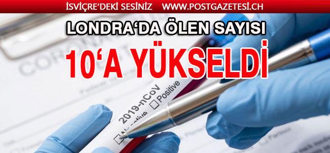 Londra'da ölen Türk sayısı 10'a yükseldi