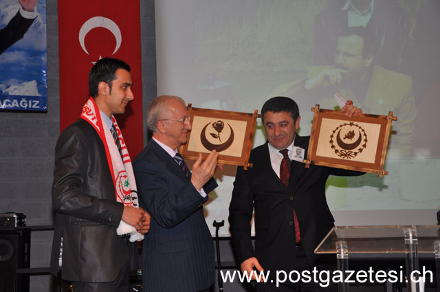 Muhsin Yazıcıoğlu isviçre'de yad edildi