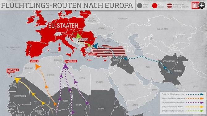 Schengen ülkelerinde domino taşı efekti