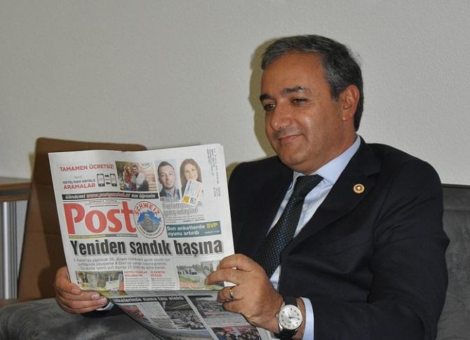 Gazetemize Vekil  Ziyareti