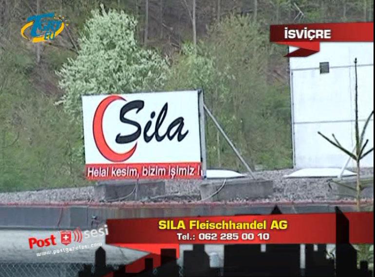 İsviçre'deki Tek Türk Et ve ürünleri Entegre Tesisleri SILA AG