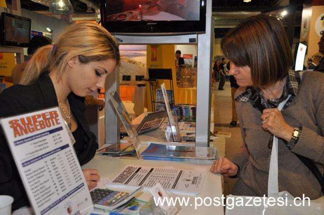 İsviçre'nin en büyük turizm fuarı FESPO başladı