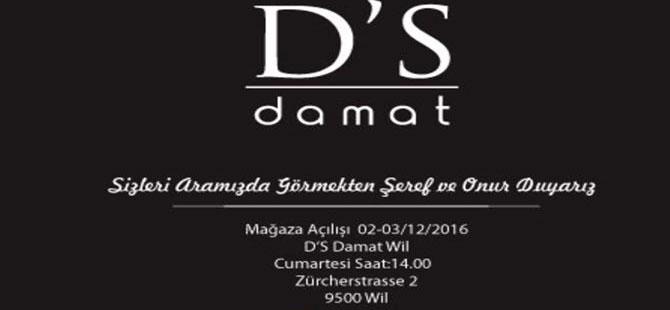 WİL'DE (SG) D'S DAMAT MAĞZA AÇILIŞINA DAVET