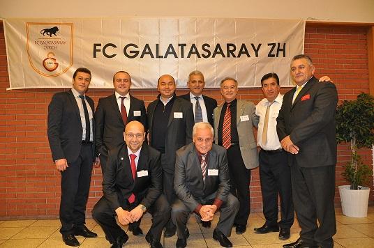 Galatasaraylılar coştukca coştu