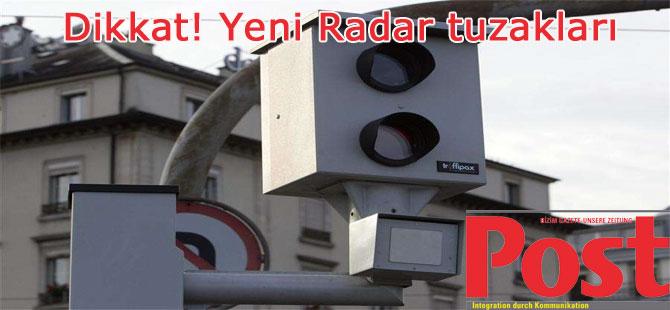 Radar Tuzakları Ceza Terörüne dönüşecek