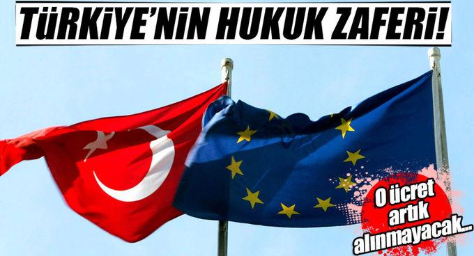 AB: Türk TIR'larından para alınamaz