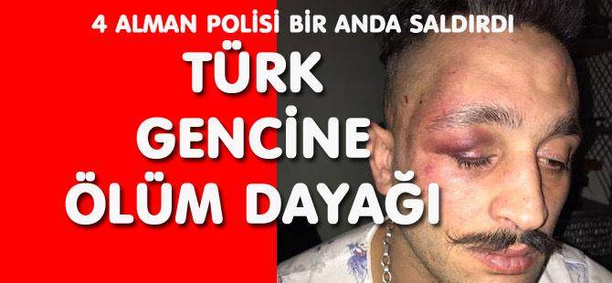 TÜRK GENCİNE POLİS DAYAĞI