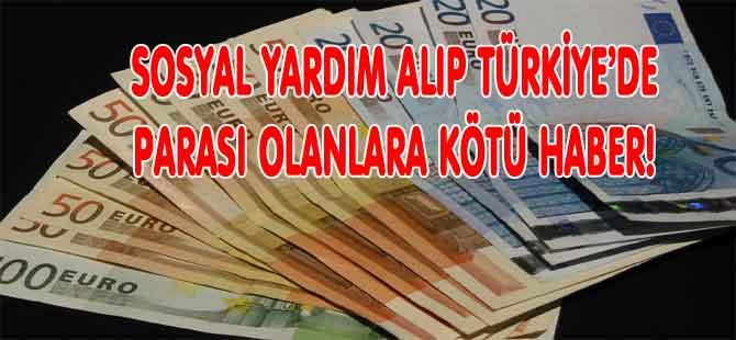 TÜRKİYE'DE PARASI OLUPTA BİLDİRMEYENLER YANDI!