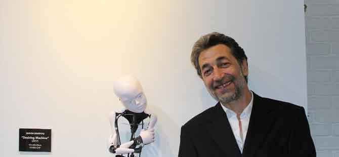 Türk sanatçıdan İsviçre'de 'dijital heykel' sergisi
