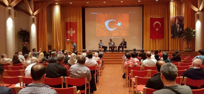 Tanıklar darbe girişimini İsviçre'de anlattı