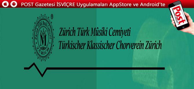 Zürich Türk Mûsiki Cemiyeti'nden yenilikler
