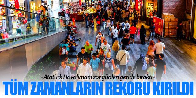 Atatürk Havalimanı tüm zamanların rekorunu kırdı!