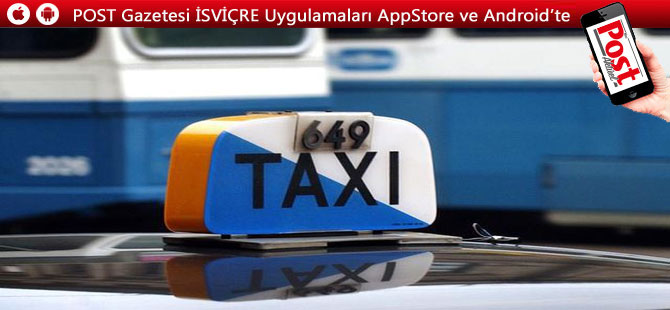 Dünyanın en pahalı taksisi Zürih'te