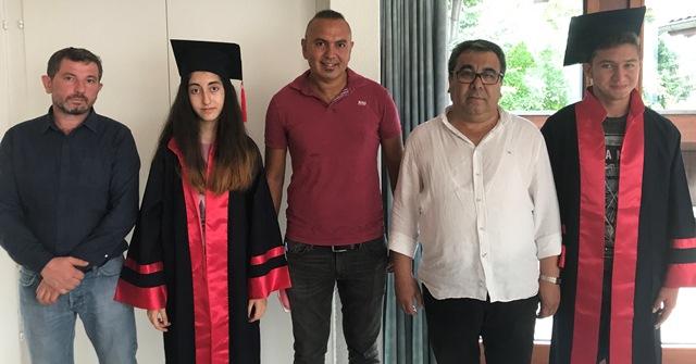 Volketswil Türk okul Aile birliğinden mezuniyet töreni