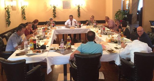 İsviçre'deki Anadili Derslerinin Kanton Sorumluları ile Tanışma Yemeği