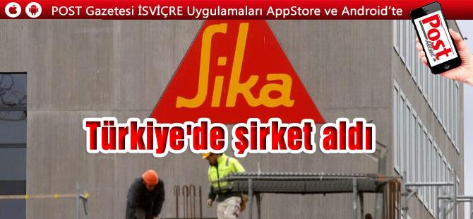 İsviçreli dünya devi Türkiye'de şirket aldı
