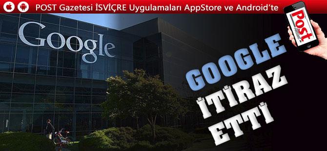 Google'dan rekor para cezasına itiraz