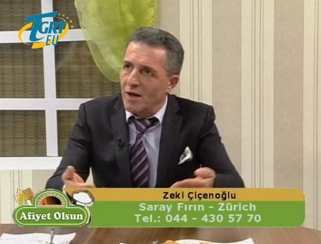 Afiyet Olsun / Zeki Çiçenoğlu/ TGRT EU