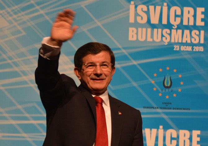 Permierminister der Türkei in Baden