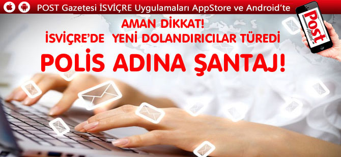 POLİS ADINA ŞANTAJ!