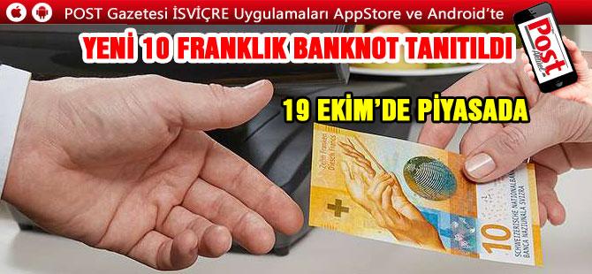 İŞTE YENİ 10 FRANKLIK BANKNOT