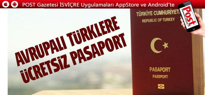 CHP'den gurbetçilere ücretsiz pasaport teklifi