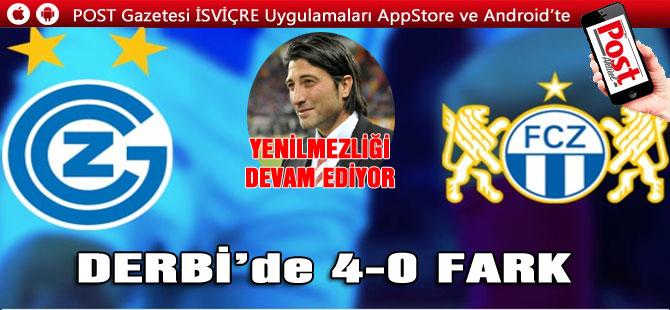 DERBİ'de FARK… FCZ- GCZ 0-4