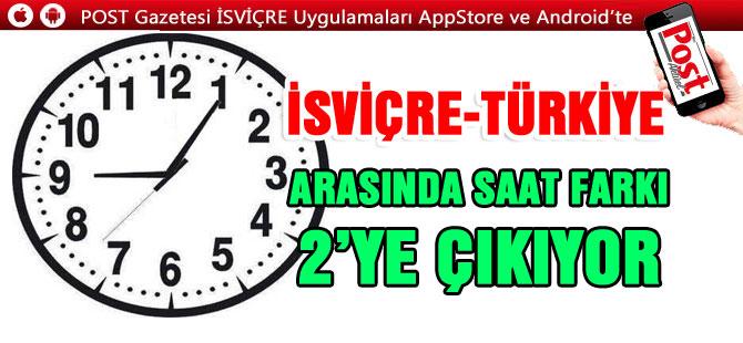 Dikkat! Saatler bu pazar geri alınıyor, Türkiye ile saat farkı 2'ye çıkacak
