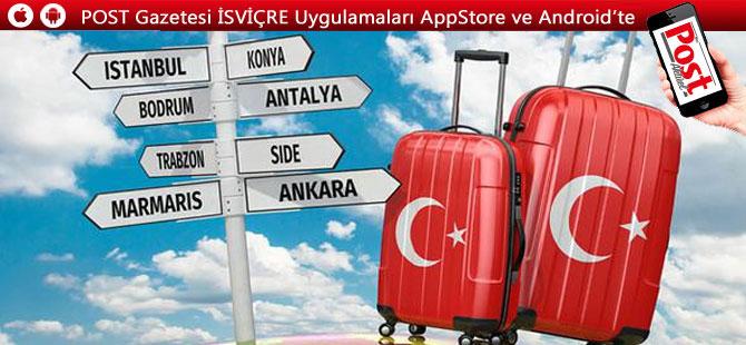 İsviçreliler tatil için en çok Türkiye'yi sordu