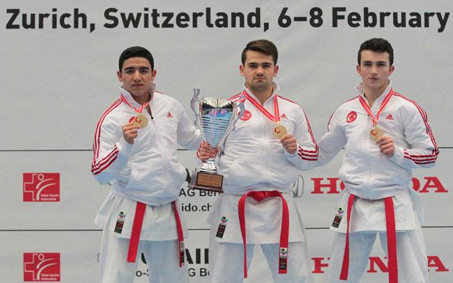 Milli Karateciler'den 2 günde 3 madalya