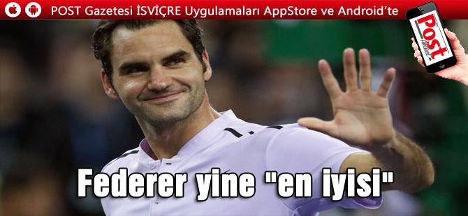 İsviçre'de Roger Federer ve Wendy Holdener Yılın Sporcuları