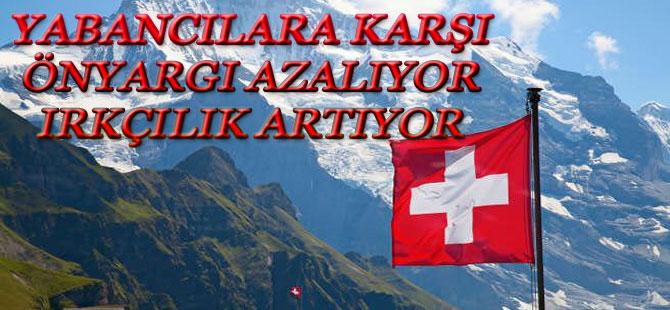 İsviçre'lilerin yüzde 25'i Yabancı Düşmanı