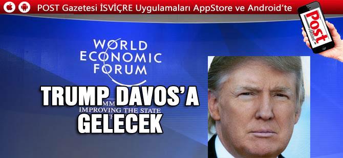 ABD Başkanı Donald Trump İsviçre'ye geliyor