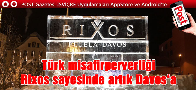 Davos'ta Rixos sezonu açtı