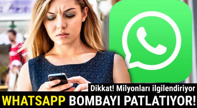 WhatsApp'a 3 bomba özellik birden!