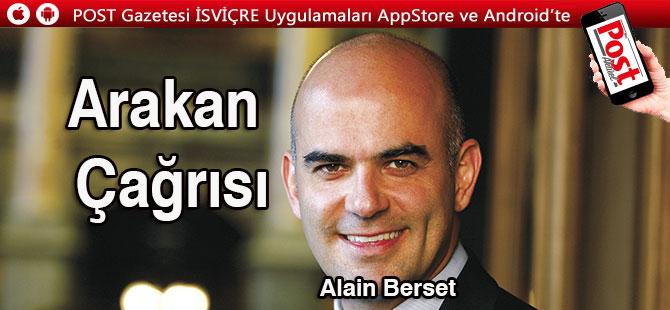 İsviçre Konfederasyon Başkanı Berset'den  Arakan çağrısı