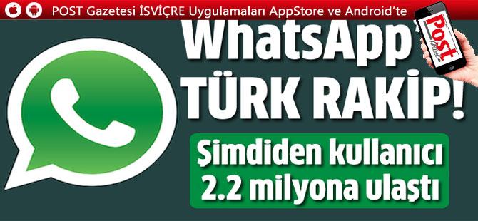 WhatsApp'a rakip tamamı Türk PTT Messenger geliyor