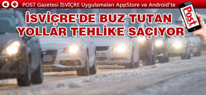 YOLLARDA VE KALDIRIMLARA DİKKAT!