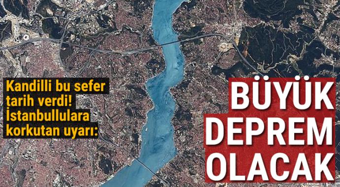 Kandilli Rasathanesi Müdürü'nden İstanbul için deprem uyarısı