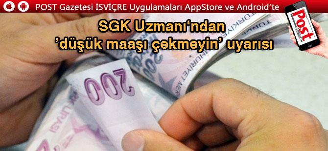 Avrupalı Türklere düşük emekli maaşı uyarısı