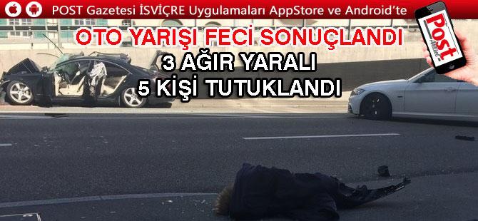 TRAFİK MAGANDALARI ZÜRİH'TE SAHNEYE ÇIKTI