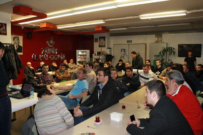 FC Turkuaz'da vefalı buluşma