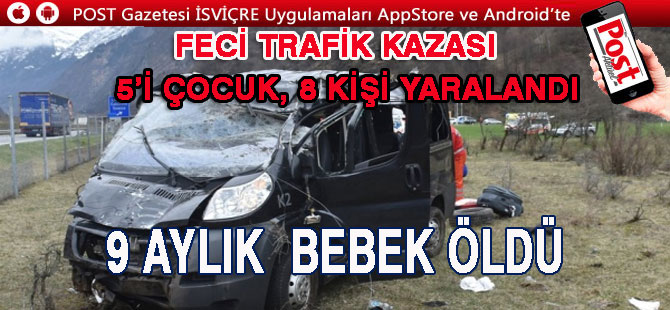 FECİ TRAFİK KAZASI CAN ALDI
