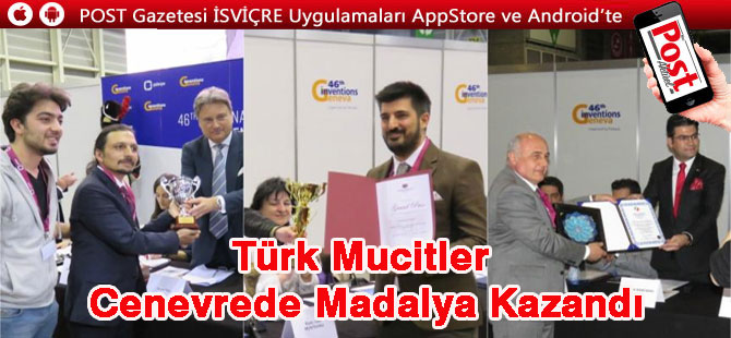 Uluslararası buluşlar fuarında Türk mucitlere 3 altın madalya