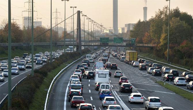 Trafikteki araç sayısı arttı